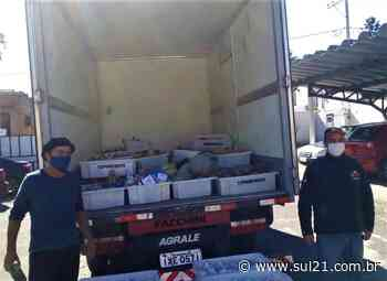 Sem Terra de Santana do Livramento doam alimentos da Reforma Agrária para famílias carentes - Sul21