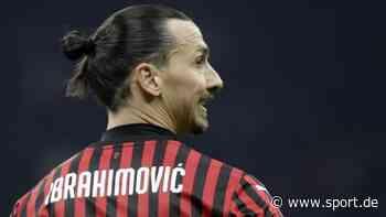 Fußball / Serie A: Zlatan Ibrahimovic ist zurück beim AC Mailand - sport.de
