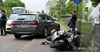 Eppelheim: Verkehrssünder verursacht Unfall - Rollerfahrer verletzt - Rhein-Neckar Zeitung