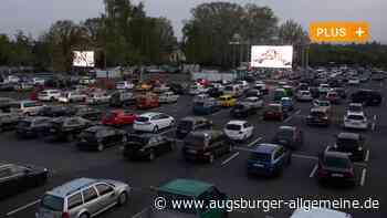 Autokino auf dem Festplatz kommt - Augsburger Allgemeine
