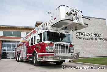 Fort St. John Fire Department responds to small brush fire - Energeticcity.ca