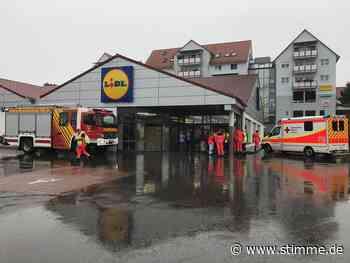 Feuerwehr-Einsatz im Lidl in Brackenheim - STIMME.de - Heilbronner Stimme