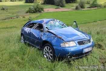 Unfall: Autofahrer (53) übermüdet: Auto überschlägt sich bei Lindenberg - all-in.de - Das Allgäu Online!