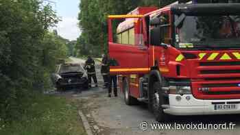 L'homme mort brûlé dans sa voiture à Wavrin devait être jugé ce mardi à Béthune - La Voix du Nord