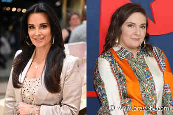 Lena Dunham Met Kyle Richards When She Was 17   The Daily Dish - Bravo