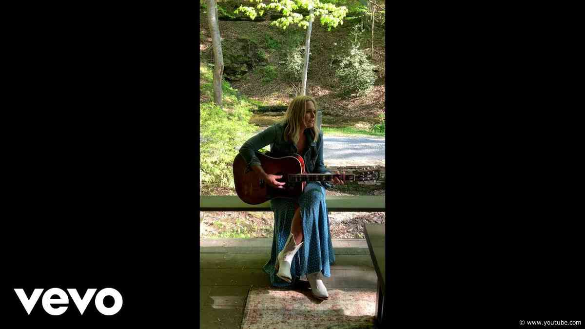 Miranda Lambert - Bluebird (Acoustic Vertical Video)