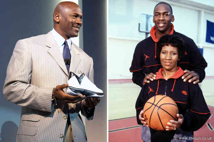 How Michael Jordan's mum helped him earn more than £1BN from Nike deal after he originally wanted adidas sponsorship
