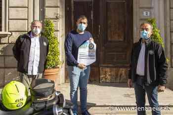 Donazione del Moto club Poggibonsi per affrontare l'emergenza Coronavirus - Siena News