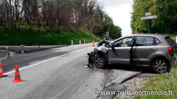 Collision entre deux voitures à Authevernes, près de Gisors - Paris-Normandie