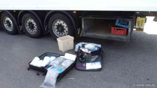 A6 Ilshofen/Wolpertshausen: Polizei findet rund 48 Kilogramm Heroin in Sattelzug - SWP