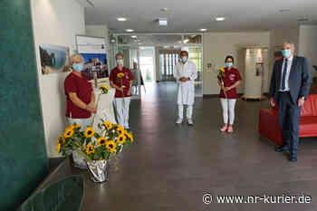 Krankenhaus Dierdorf/Selters Anerkennung und Sonnenblumen für die Pflege - NR-Kurier - Internetzeitung für den Kreis Neuwied