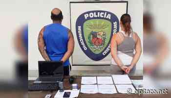 Policía de Charallave detiene a pareja por vender salvoconductos falsos - El Pitazo