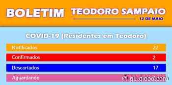 Prefeitura de Teodoro Sampaio informa segundo caso positivo de Covid-19 - G1