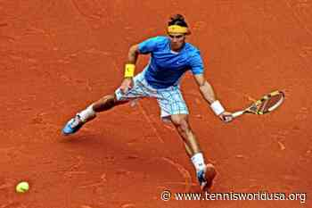 ThrowbackTimes Madrid: Rafael Nadal serves his way past John Isner - Tennis World USA