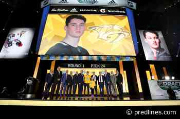 Predators: Philip Tomasino Pushing for Roster Spot Now, Not Later