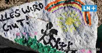 Corona - Bemalte Steine machen Geesthachtern Mut in Corona-Zeiten - Lübecker Nachrichten
