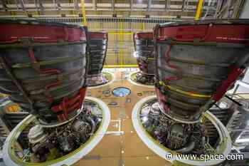 NASA orders 18 more engines for its Space Launch System megarocket