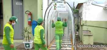 Empresa desativa túnel de desinfecção em Aracruz após nota da Anvisa - A Gazeta