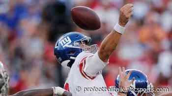 Daniel Jones focusing on improving ball security