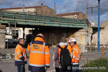 Frontignan : Les travaux de remplacement du pont ferroviaire redémarrent - le mouvement - lemouvement.info