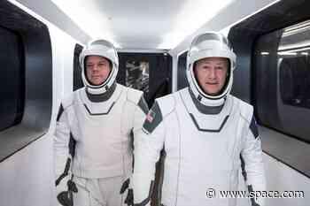 Astronauts enter a routine quarantine for historic SpaceX Crew Dragon launch