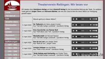 Theater-Podcast und Hörbuch: Theaterverein Rellingen und Nadine Rönnebeck aus Appen machen mobil gegen Langeweile   shz.de - shz.de