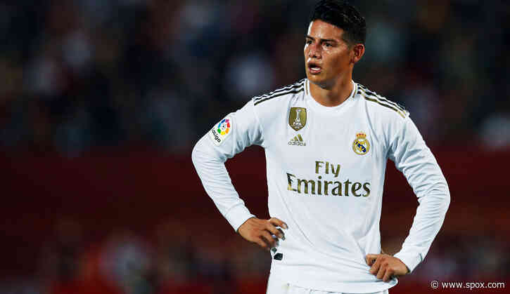 Real Madrid: Atletico offenbar an James Rodriguez dran - SPOX