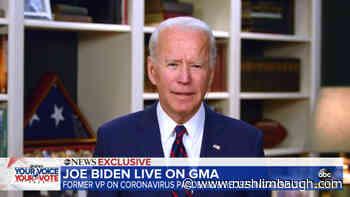 Biden Tells Media to Vet Tara Reade - RushLimbaugh.com