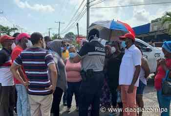 Protestas por falta de agua se agudizan en Puerto Pilón de Colón - Día a día