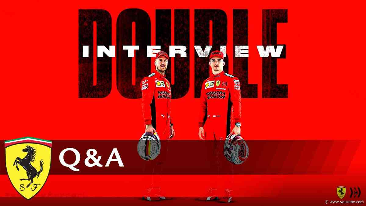 Seb and Charles answering your questions