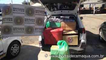 Brigada Militar prende homem por contrabando de cigarros em Esteio - Portal de Camaquã