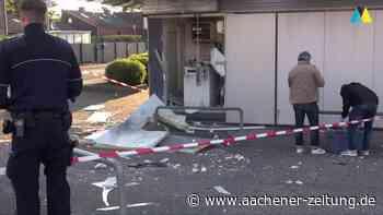 Explosion: Geldautomat in Herzogenrath gesprengt - Aachener Zeitung