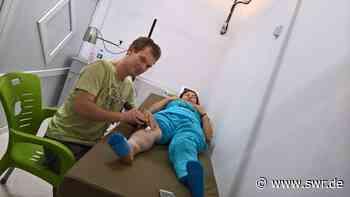 Ein Mainzer Physiotherapeut an der syrischen Front – Er schult Menschen in den kurdischen Rojava-Gebieten | SWR Heimat - SWR
