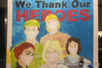 White Rock approves mural to honour pandemic front-line – Peace Arch News - Peace Arch News