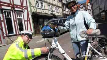 Niemand musste blechen: Polizei kontrollierte Radfahrer in Bad Sooden-Allendorf | Bad Sooden-Allendorf - HNA.de