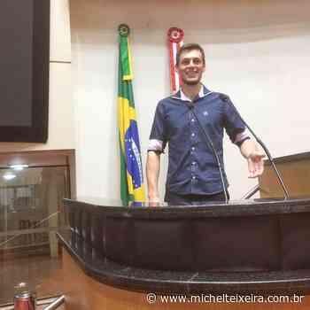 PL apresenta nome de pré-candidato a prefeito em Ipira - Michel Teixeira