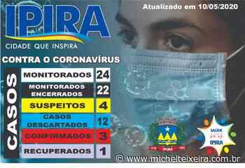 Ipira tem o primeiro paciente recuperado de coronavírus - Michel Teixeira
