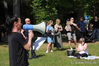 Strenge Auflagen: Weniger Demonstranten in Bad Saarow und Fürstenwalde - Märkische Onlinezeitung