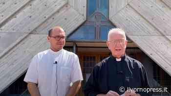 """Don Paolo Razzauti lascia la parrocchia di Santa Lucia, """"E' un disegno di Dio"""" (Video) - Livorno Press"""