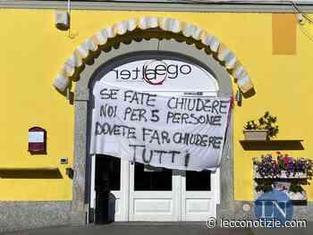 """Valmadrera, il bar sanzionato protesta: """"Allora chiudeteci tutti"""" - Lecco Notizie"""