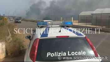 Donnalucata: a fuoco vasta area in contrada Spinello - Scicli Video Notizie