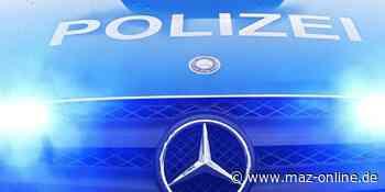 Polizeibericht Potsdam-Mittelmark - Polizei greift hilflosen Volltrunkenen an Landstraße bei Michendorf auf - Märkische Allgemeine Zeitung