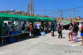 Productos directos del campo comercializarán en distrito de Végueta - Agencia Andina
