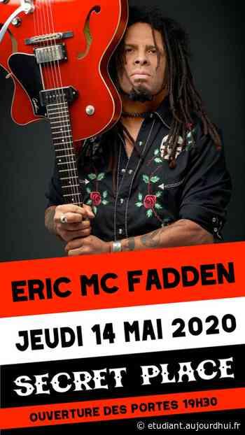 ERIC MCFADDEN - Secret Place , Saint Jean De Vedas, 34430 - Sortir à France - Le Parisien Etudiant