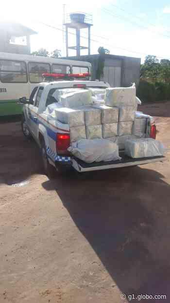 PM do Pará apreende mais de duas toneladas de cocaína em Barcarena - G1