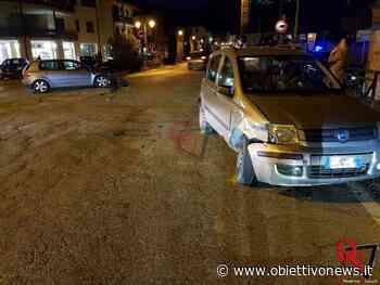 VALPERGA – Scontro all'incrocio semaforico con via Busano (FOTO) | ObiettivoNews - ObiettivoNews