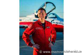 Snowbird pilot flies a mission of thanks over Sackville, N.B. - TheChronicleHerald.ca