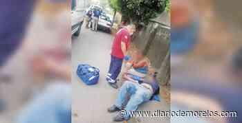 Choca taxi y sale pareja lesionada en Jiutepec - Diario de Morelos