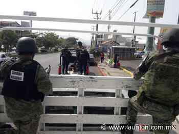 Apoyan Mando Coordinado y GN operativos en Jiutepec - Unión de Morelos