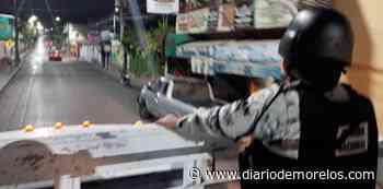 Patrullan calles de Jiutepec para resguardar negocios - Diario de Morelos